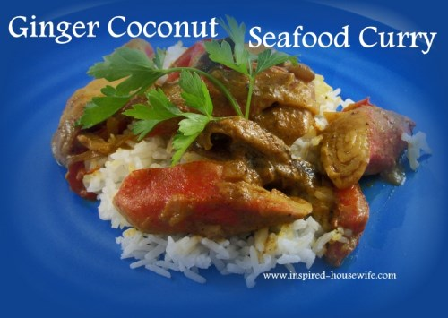 3 Thai Inspired Seafood Curry