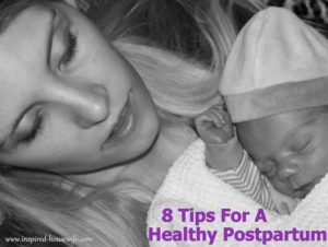 8 Tips for a Healthy Postpartum Recovery