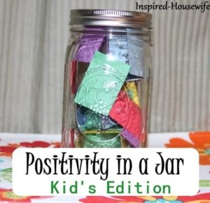 Positivity in a Jar by Amee of Inspired Housewife