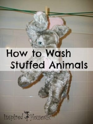 Washing Tips for Stuffed Animals