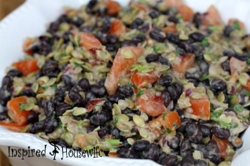 Spicy Chilpotle Black Bean Salad