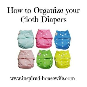 cloth diapers organization