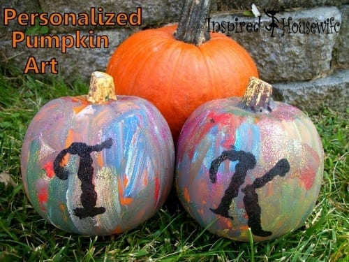 Personalized Pumpkin Art