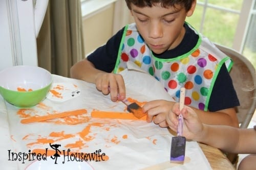 Popsicle Scarecrow Craft