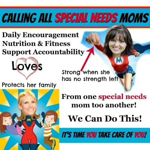 Time to Take Care of You - Special Needs Mom Support!