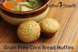 Grain Free Corn Bread Muffins