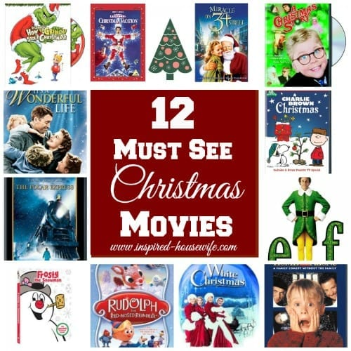 12 Must See Christmas Movies