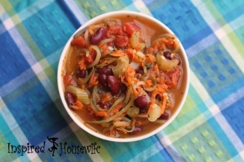 21 Day Fix - Minestrone Soup