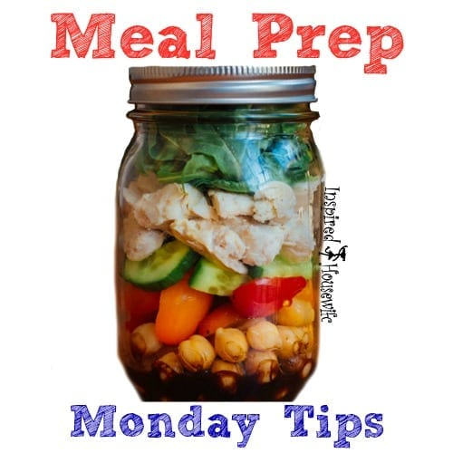 Meal Prep Monday Tips