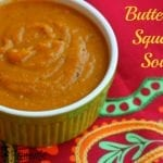 For a healthy and quick make ahead meal try this healthy butternut squash soup. It is super creamy, gluten free, and 21 Day Fix approved.