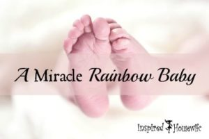 A devastate family who lost three babies and who made major changes to their health to conceive again. A story about a miracle rainbow baby!