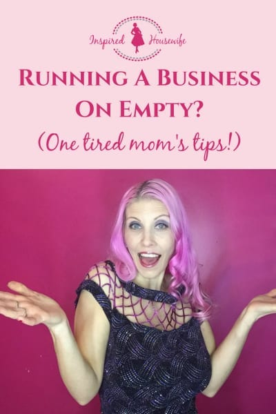 Running A Business on Empty