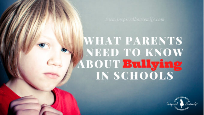 What Parents Need to Know About Bullying in Schools
