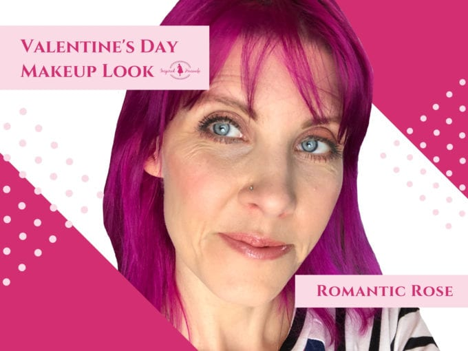 Valentine's Day Makeup Look - Romantic Rose