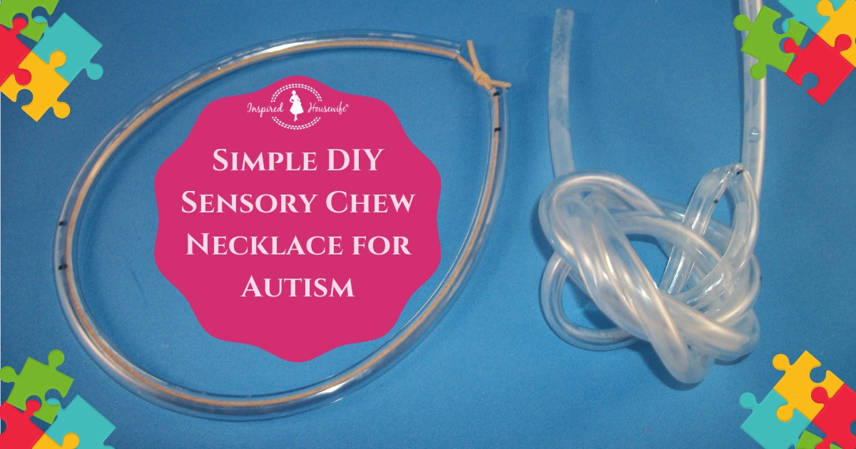 Chew Necklace for Autism