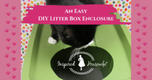 DIY Litter Box Enclosure